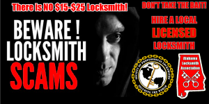 honest locksmiths don't bait and switch
